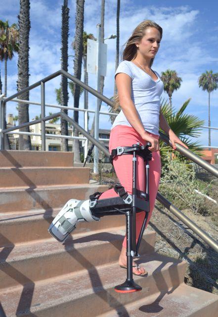 iWALK2.0 let at gå med krykker på trapper